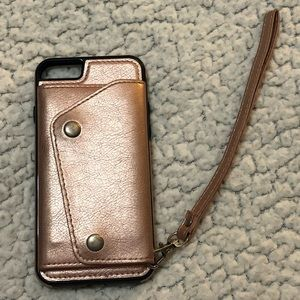 iPhone 6s wallet phone case (Used)